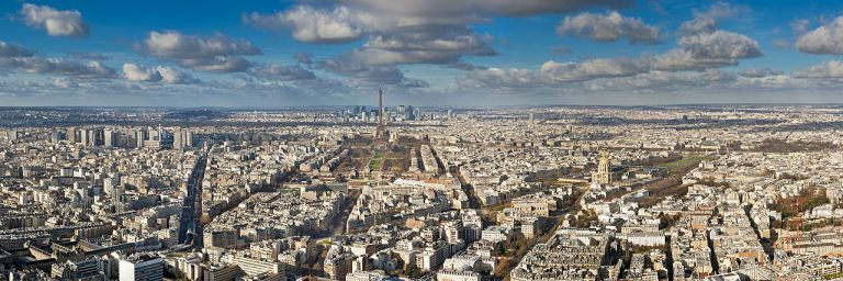 Il panorama visto dal grattacielo