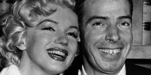 Di Maggio insieme alla Monroe