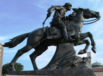 Pony-express-statue